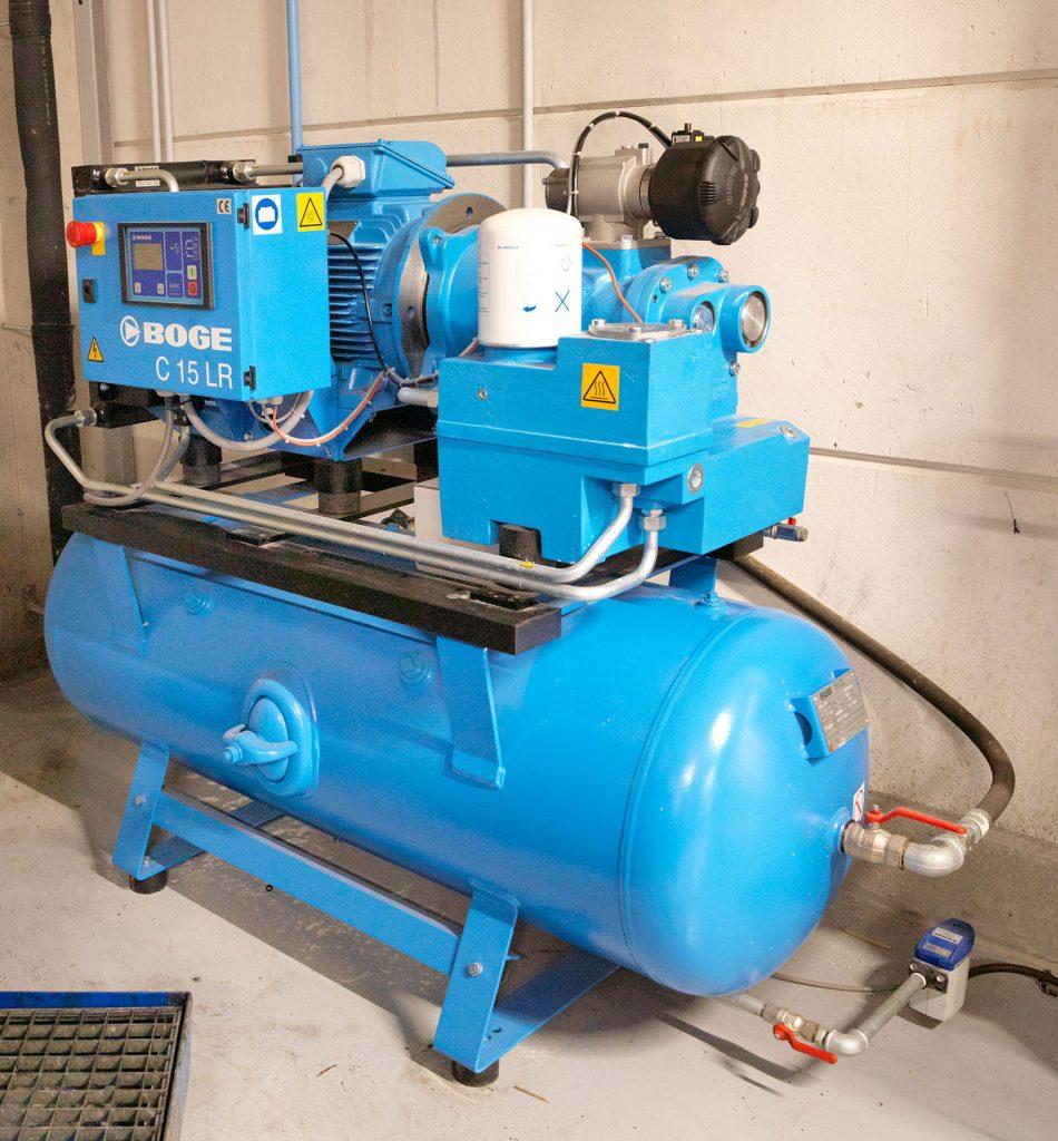 <p>Boge schroefcompressor.</p>