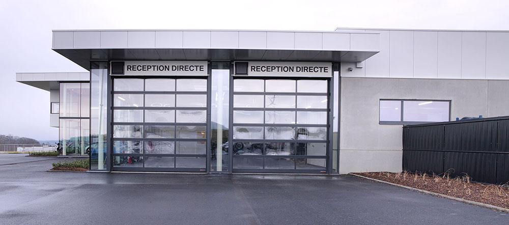 <p>2 Directe receptie zones.</p>