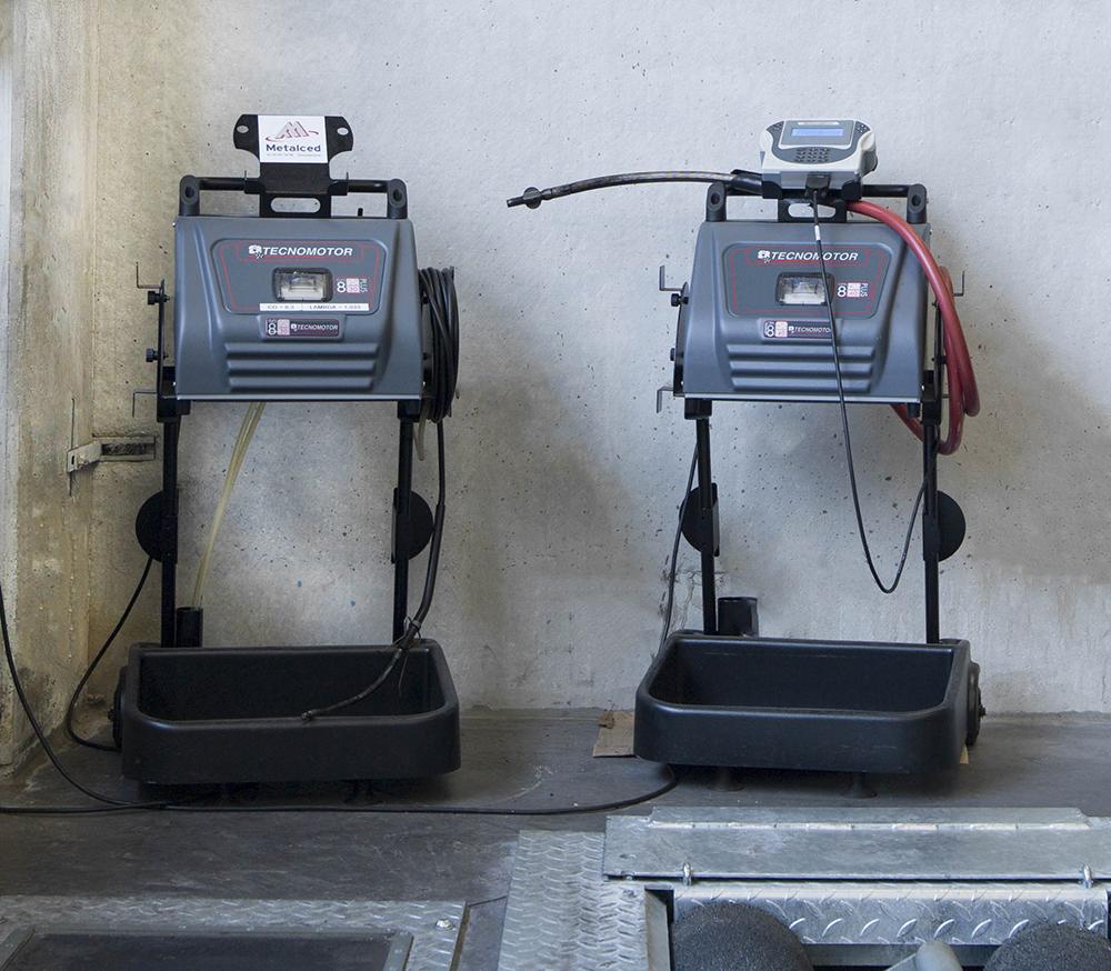 <p>Tecnomotor.<br />Mobiele uitlaatgastesters voor benzine- en dieselmotoren.</p>